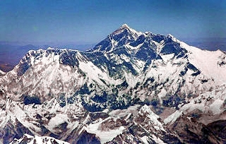 Mt Everest Aerial View